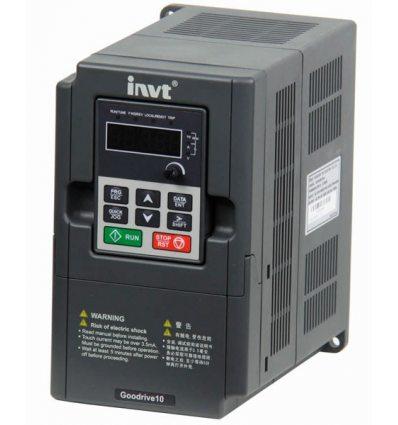 Перетворювач частоти INVT GD10-0R4G-S2-B 0,4кВт 220В